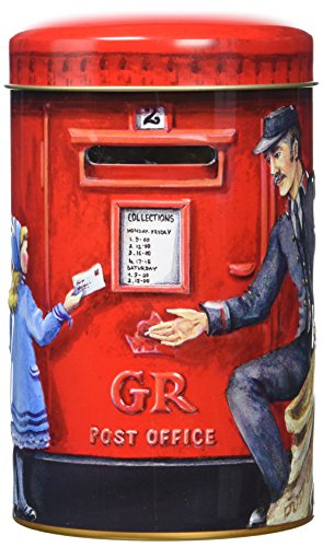 Churchill's Post Box Money Box with Toffees 200 g