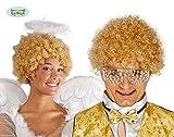 Perruque coupe courte blond avec boucles