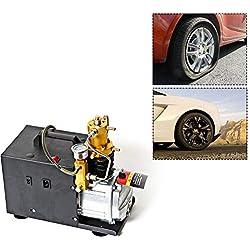 30Mpa PCP Pompe à Compresseur électrique à Air Refroidi, Electric Compressor Pompe Haute Pression, 1800W 4500psi 220V