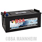 BSA Solar GEL Batterie 240Ah 12V Gelakku Solarbatterie Versorgungsbatterie - 6 Grössen (240Ah)