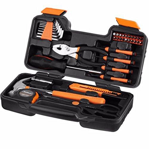 Generic.. Hand Werkzeug Hand Werkzeug w Home DIY DIY Multi RAV Kit Set Box UK Lager Damen Gelb Home Travel Box UK Lager