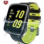 Willful smartwatch con Pulsómetro,Impermeable IP68 Reloj inteligente,Fitness Tracker con cronómetro, Monitor de sueño,monitor de ritmo cardíaco,Podómetro, Contador de caloría,calendario,control remoto de música,Pulsera Actividad Bluetooth pulsera inteligente para Android y IOS