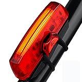 Fahrrad Rücklicht, NewZexi Fahrradlicht USB Wiederaufladbare Fahrradrücklicht Hell LED Rücklicht für Mountain Rennrad 4 Modi Einfache Installation Wasserdicht Rot Rücklicht Reiten Sicherheit Licht