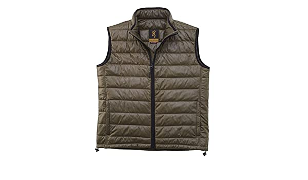 *Browning Bodywarmer Vest Featherligth Primaloft Green Hunting//Outdoors