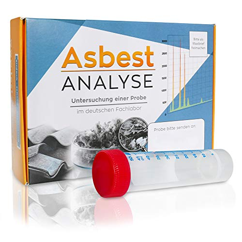Asbest Test zum Nachweis von Asbest in einer Staubprobe oder Materialprobe