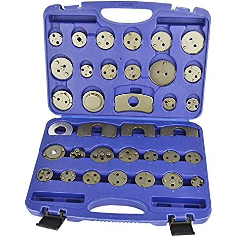 Estribo de freno pistón Pad Wind Back Set Kit adaptador 35pcs BERGEN