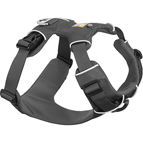 Ruffwear All Day Adventure Dog Harness, Large to Very Large Breeds, Adjustable Fit, Size: Large/X-Large, Twilight Grey, Front Range Harness, 30501-025LL1
