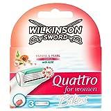 Wilkinson Sword Quattro Bikini Titanium Rasierklingen für Damen