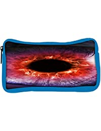 Snoogg Eco Friendly Canvas The Eye Of The Storm Student Pen Pencil Case Coin Purse Pouch Cosmetic Makeup Bag