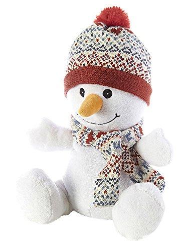 Warmies Cozy Plüsch Schneemann-mikrowellengeeignet/beheizbar Plüsch Spielzeug