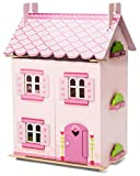 Le Toy Van Wooden My First Dreamhouse Doll\'s House (with furniture)