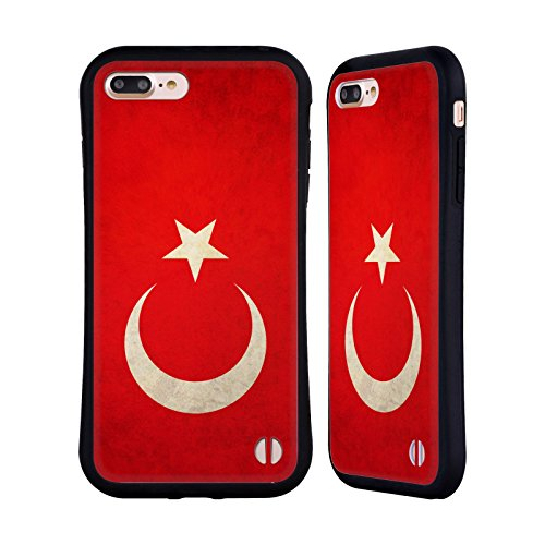 Head Case Designs Austalien Australianisch Vintage Fahnen Hybrid Hülle für Apple iPhone 6 / 6s Türkei Türkisch