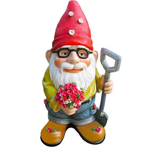 Die Schöne Geschenk der Blumen Gnome (das perfekte Geschenk Vatertag.) --handbemalt & Wunderbar Detaillierte --von Zweig und Blume