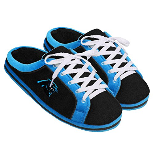 Forever Collectibles NFL Carolina Panthers Unisex Sneaker Slide Slipper Extra Large, X-Large