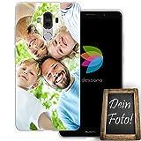 dessana Eigenes Foto transparente Schutzhülle Handy Tasche Case für Huawei Mate 9