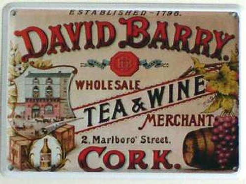 mini-de-cartel-de-chapa-david-barry-tea-wine-11-x-8-cm