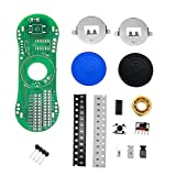 DIY-elektronische kit DIY LED Lichtgevende Vingertop Gyroscope Kit Roterende Vinger Gyro Display Tekst Patroon Electronic Production Kit 1 stks (Color : Blue)