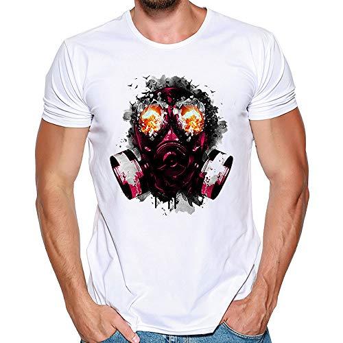 feiXIANG Maglietta per Uomo T-Shirt con Stampa Divertenti usato Spedito  ovunque in Italia 5f1abba6f3b