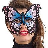 Maschera Farfalla Fantasia in Tessuto