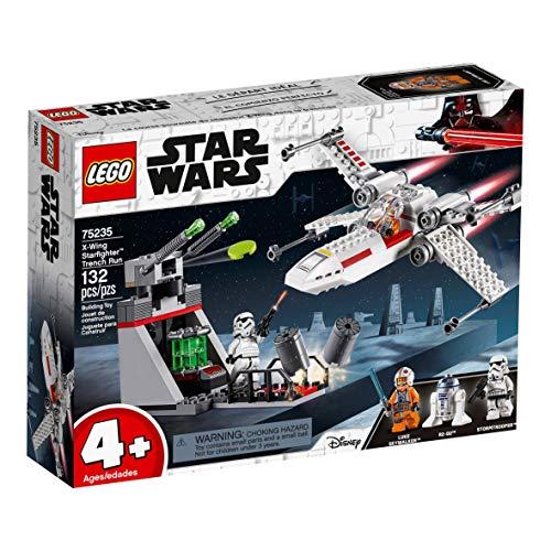 51zyZO6DqpL - LEGO Star Wars - Asalto a la Trinchera del Caza Estelar Ala-X, juguete de construcción de nave espacial de La Guerra de las Galaxias (75235)