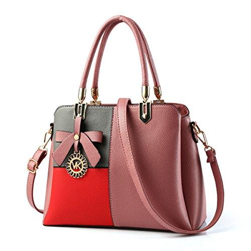 Dame Handbag Fashion Trend Kampf Farbe Schultertasche Messenger Bag C
