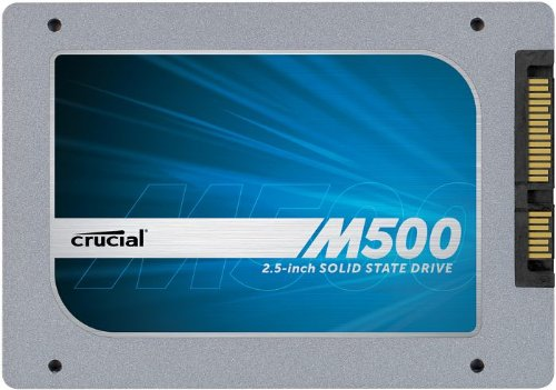 Crucial CT240M500SSD1 interne SSD 240GB (6,4 cm (2,5 Zoll) 256MB Cache, SATA III)