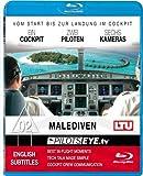 PilotsEYE.tv | MALEDIVEN | Düsseldorf - MALE |:| Blu-ray Disc® |:| Cockpitflight LTU A 330-200 | Bonus: Helikopterlandung [Blu-ray] [Reino Unido]