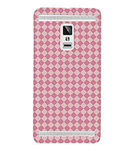 Fuson Designer Back Case Cover for Vivo X3S (Diamond shape pattern design :: Geometric pattern design :: Digital pattern design :: Multicolor diamond pattern design)