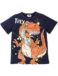 Camiseta Bebe Manga Larga, Zolimx Recién Nacidos Niños Dibujos Animados Dinosaurio