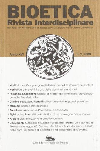 Bioetica (2008) por aa.vv.