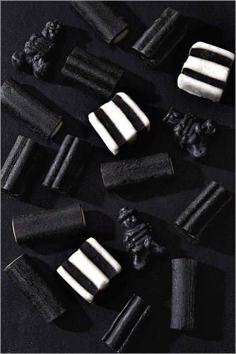 akritze Noir von K&L Food Style - hochwertiger Kunstdruck, neues Kunstposter ()