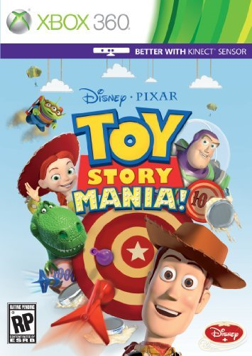 Toy Story Mania for Xbox 360 Kinect by Disney Interactive Studios