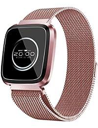 26313db4b95e DAYLIN Pulsera Actividad Inteligente Presion Arterial GPS Hombre Mujer  Reloj Deportivo Smartwatch Fitness Tracker IP68 Impermeable
