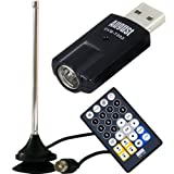 Chiavetta Sintonizzatore TV Digitale USB per PC - August DVB-T202 - Decoder per Canali TV Digitale Terrestre USB DVB-T2 HEVC per WINDOWS - Ricevitore Esterno per Televisione Digitale e Registratore in Stile PVR - Chiavetta WINTV per PC e Notebook - Compatibile con Windows 10 / 8 / 7 / Vista / XP