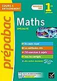 Maths 1re (spécialité) - Prépabac: nouveau programme de Première 2019-2020...