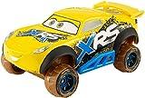 Mattel- Disney Cars-Vehículo XRS Cruz Ramirez, Coches de Juguetes niños +3 años GBJ37