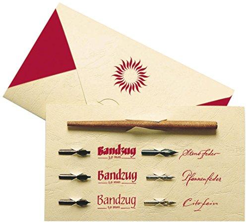 Plakat-schutzfolie (Brause 1137B Kalligraphie-Set Tasche (mit Schreibfederhalter in Holz und 6Kalligraphie-Federn, elfenbein))