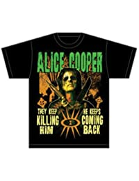 6b471f31df01b Amazon.co.uk: Alice Cooper - Tops & Tees / Band T-Shirts & Music Fan ...