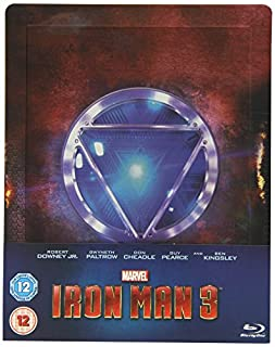 Iron Man 3 Steelbook limited Edition (B00F3A732K) | Amazon price tracker / tracking, Amazon price history charts, Amazon price watches, Amazon price drop alerts
