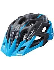 KED Status Helmet Junior Blue Black Matt 2017 mountainbike helm downhill