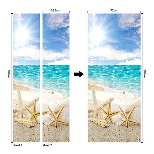 QL&HEY Wallpaper 3D dekorative Tapete, wasserfester Farbiger Aufkleber für Bad/Küche - Plane Shapes Indoor (größe : 38.5 * 200cm*2)