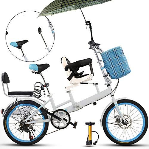 YUMEIGE triciclos 20 Pulgadas de Bicicleta