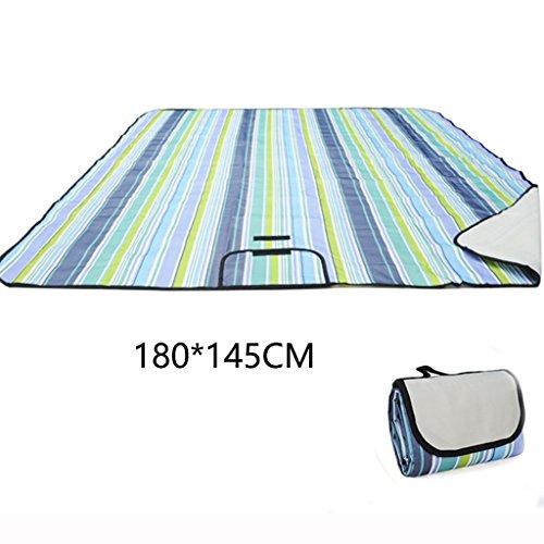 ERRU-Pad résistant à l'humidité 180 * 145CM Outdoor Camping Moisture-proof Mat Portable Sleeping Foldable Pad humidité imperméable à l'eau ( Couleur : A )