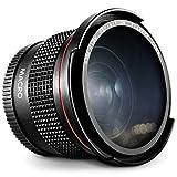 52MM 0.35X Altura Photo Professional Super Fisheye Wide Angle Lens w/ Macro Close