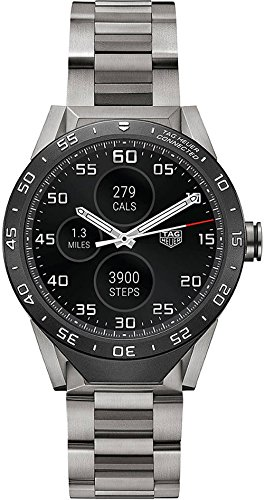 Tag Heuer Connected grade 2bracciale in titanio 46mm Smart Watch...
