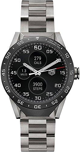 TAG HEUER CONNECTED Grade 2 Titanium bracelet 46MM SMART WATCH SAR8A80.BF0605