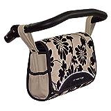 Zekiwa 803/867-06 komfortable Wickeltasche zum Kinderwagen Dessin: Beige NL