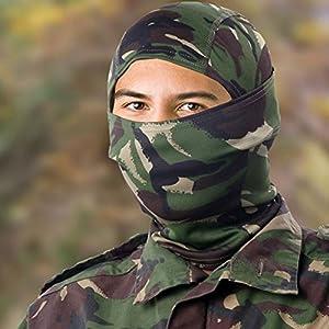 Airsoft DPM Camouflage Passe-montagne visage Wrap Tête Coque Sniper Veil Paintball armée Camo