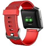 Boucle de sangle de bande de bracelet Bracelet en silicone de rechange pour Fitbit Blaze tracker Sports