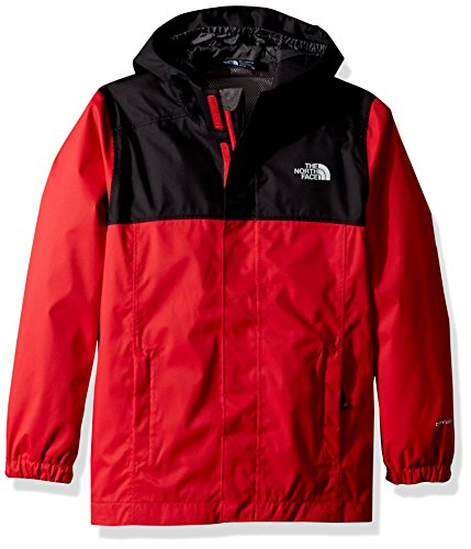 THE NORTH FACE Jungen Resolve Reflective Jacke, TNF Red, M - Kinder-rücken-rv